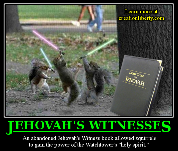 Demotivational Poster Jehovah Witness