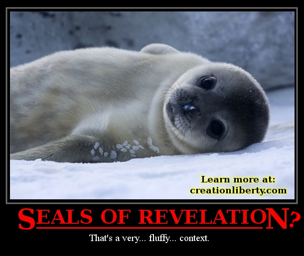 demotivational poster revelation bible seal